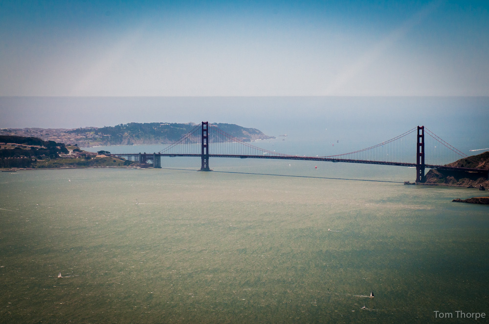 San Francisco Helicopter Tour  Tom Thorpe Photography